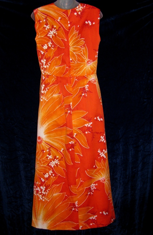 Tropicana Hawaii Fashions Floral Dress