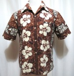 Barkcloth Hawaii Shirt