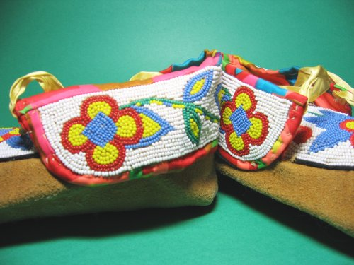 Authentic Hand Made Moccasins