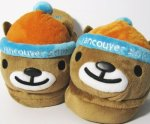Vancouver Olympic Games Mukmuk Mascot Slippers
