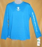 Vancouver Olympic Games Ladies Blue Shirt