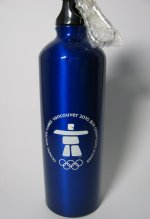 Vancouver Olympic Games Water Bottle