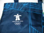 Vancouver Olympics Blue Tote Bag