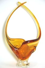 Amber Art Glass