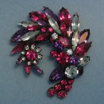 Sherman Multi Color Brooch