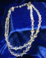Crystal 2 Strand Necklace