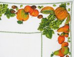 Vintage Fall Fruits Tablecloth