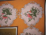 Vintage Victorian Roses Tablecloth