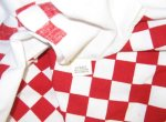 Red ARTEX Checkered Tablecloth