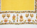 Pilgrim Gold Tablecloth