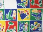 Vintage Mexican Southwestern Tablecloth