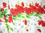 Vintage Wilendur American Beauty Tablecloth