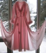 Glamorous Hollywood Peignoir