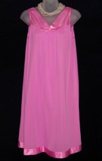 Hot Pink Applique Nightgown