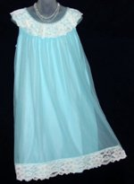 Dorsay Blue Babydoll Nightgown