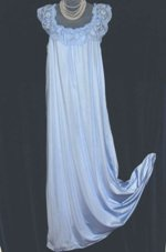 Olga Sky Blue Nightgown
