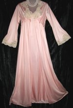 French Maid Pink Peignoir Set