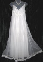 Shadowline White Nightgown